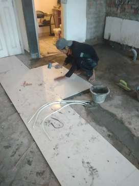 Jasa renovasi rumah bangun rumah pemasangan lantai, atap plafon dll
