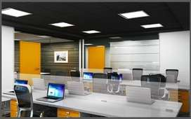 Beautiful Furnished Office of 252 sq.ft near 150 Ft Road