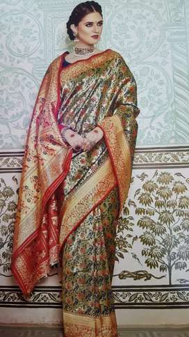 New fresh color exckusive Sarees