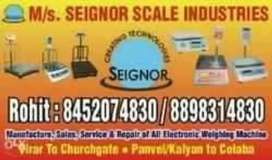 Electronic weighing scales sales and service