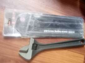 Wrench  and  screw  driver