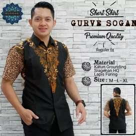 Hem batik curve sogan