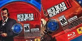 Red Dead 2 RDR 2 PS4 BD/Blueray jual butuh
