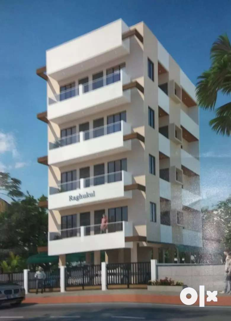 1bhk newly Constrated flat for sell-Godhani road*Mankapur*Gorewada rod 0