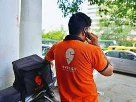 immediate hiring delivery boys for swiggy
