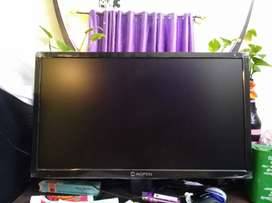 Acer aopen led monitor only 2 months rare use bill box available