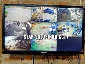 PAKET HEMAT CCTV CAMERA FULL HD 2MP ALL MERK-FREE INSTALASI