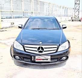 Mercedez Benz C230 Tahun 2008 / 2009 Matic Hitam Metalik