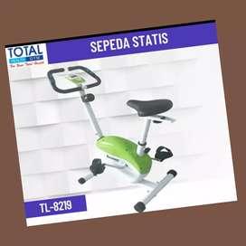 jual sepeda statis bike magnetic TL-8219 FW-26 alat fitnes//treadmill/