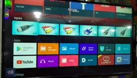 Samsung 55 smart inches android led original android version 8.0