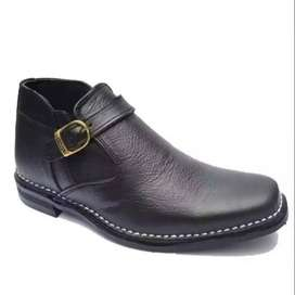 Don Carlos Style Pure Leather Handmade Shoes