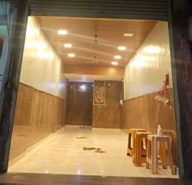 FOR RENT SHOP HOTEL GHANSOLI SECTOR 1 NEAR BHARAT BANK MARKET LOCATION