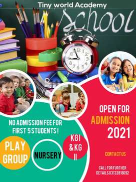 Pre-primary &Primary teachers required for school
