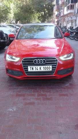 Audi A4 35 TDI Premium + Sunroof, 2015, Diesel