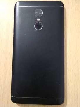 Redmi Note 4 with 4gb ram and 64gb internal storage