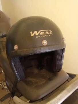 3 Motorcycle half helmet in good condition