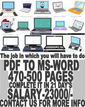 Minimum qualification - fresher, 10th pass,12th pass the job job for u