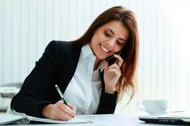 Office Assistant Females required back office work +2 graduate