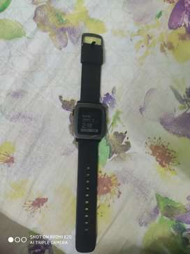Pebble time smart watch in excellent working condition