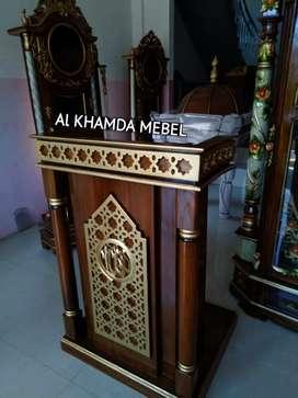 Ready Mimbar Musholla Kerajinan Jepara #521