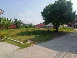 Dijual tanah kosong lokasi strategis dkt Jl. KH.Nasution Simpang Tiga