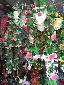 Pohon bunga gantung sintetis, dqn vertikal sintetis