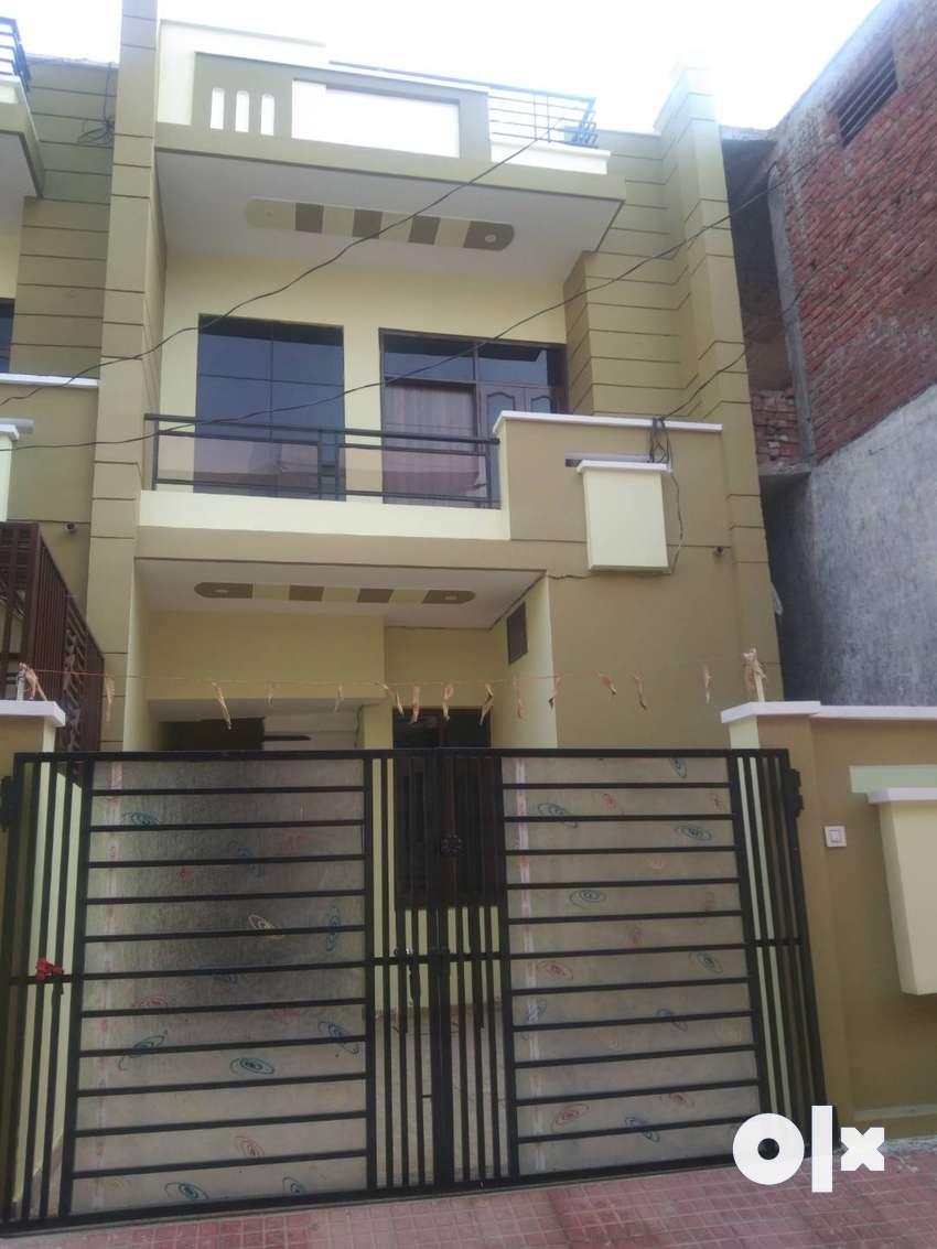 GARH ROAD NEAR TAKSHILA COLONY, 133 YARD DUPLEX HOUSE 55 LAC 0