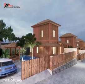 Rumah Dengan Kolam Renang Pribadi Harga 800jt an diSedayu Bantul Yogya