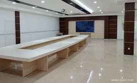 Borongan furniture interior HPL, per meter tenaga ples bahan