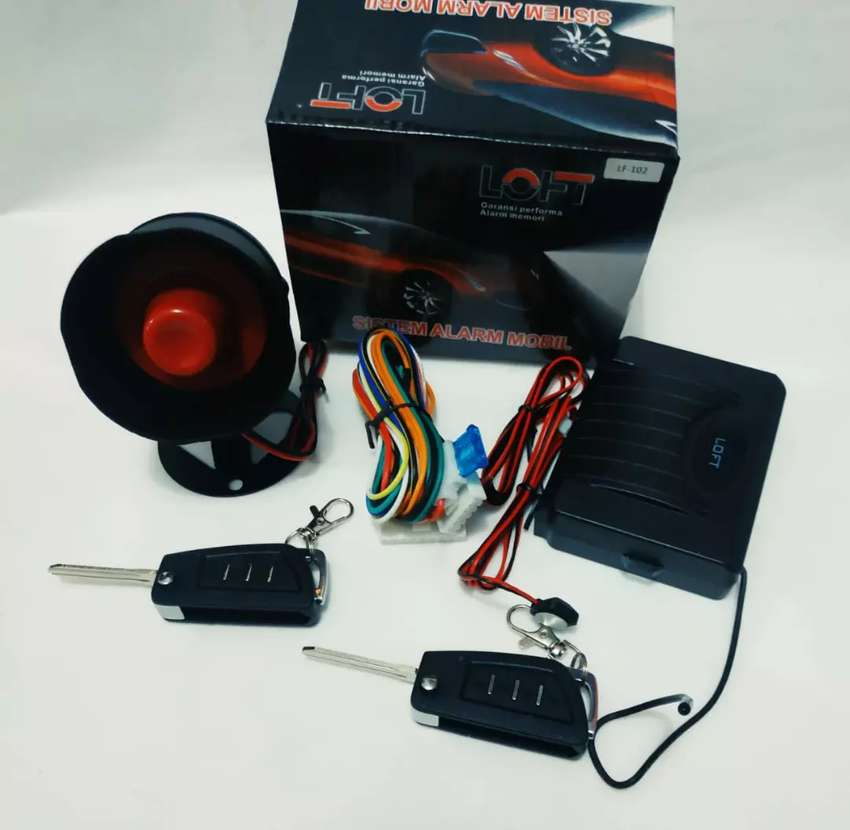 Pasang sensor kamera tape mobil alarm remot 0