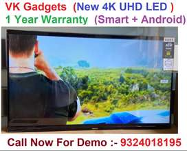 "Flat 40% Off on 50"" 4k New Box pack LED with warranty on sale"