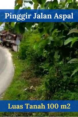 Tanah Murah Pinggir Jalan Aspal Di Pantai Sundak Gunungkidul