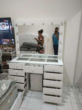Order cod furniture vannity cantik/rak makeup minimalis