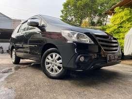Toyota Kijang Innova G A/T Diesel 2014 Hitam. Jok Kulit. Siap pakai