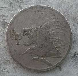 Uang Coin Rp. 50