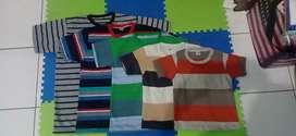 Kaos anak oblong salur size XL grosir