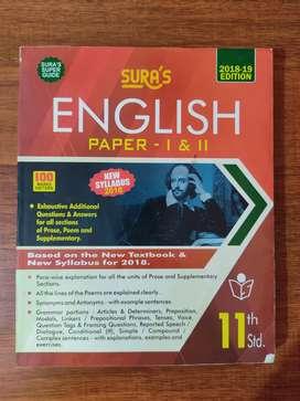 Sura's English guide - Class 11