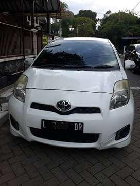 Toyota Yaris E- Manual 2012 Putih 105 jt
