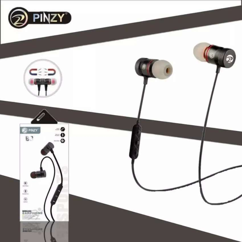 Headset Bluetooth Pinzy Doubel Bass Batteray Awet 0