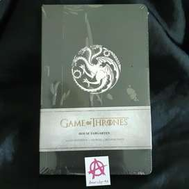 Ruled Notebook Game of Thrones - House Targaryen 128 pages Buku Notes