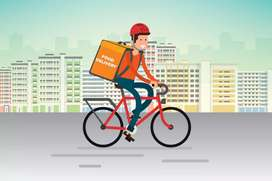 Delivery Boy required in Swiggy company