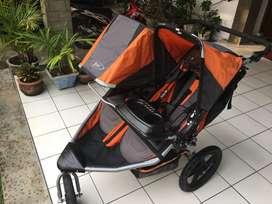 Bob Double Stroller (Roda Bayi 2 Anak) - Jogging Stoller