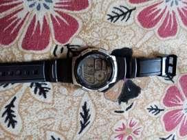 Casio watch.