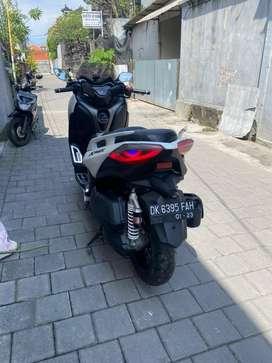 Yamaha xmax 2018 sudah banyak modifikasi alt2 msih ada pajak on