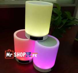 Bluetooth Speaker CL-671 Touch Colourful Desk Lamp Portable Wireless