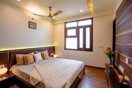 Super luxury Flat 3bhk Wall furnished
