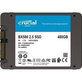 Crucial BX500 480GB 3D NAND SATA 2.5-Inch Internal SSD