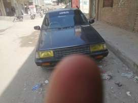 Nissan sunny family used car 1986 sale and exchange possible