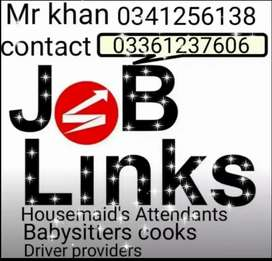 Domestic servants Services Provider in All Karachi 12/7 24/7