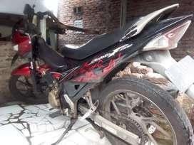 Dijual cepat Suzuki Satria FU 2012, harga nego, kondisi laik jalan
